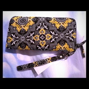 NWT Cotton Clutch Wallet